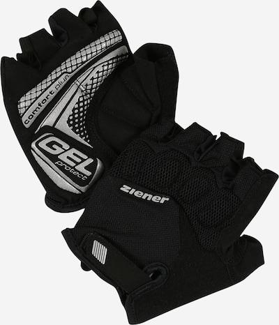 ZIENER Guantes deportivos 'COLIT' en gris plateado / negro, Vista del producto