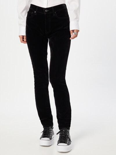 Jeans Polo Ralph Lauren pe negru denim, Vizualizare model