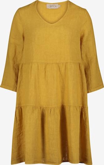Cartoon Kleid in senf, Produktansicht