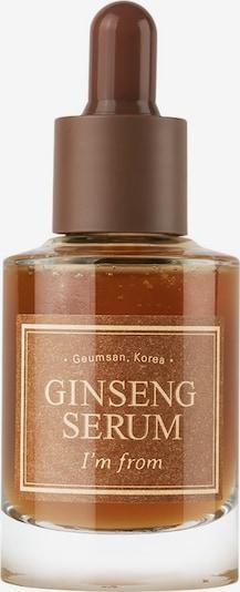 I´m from Serum 'Ginseng' in beige / braun / transparent, Produktansicht