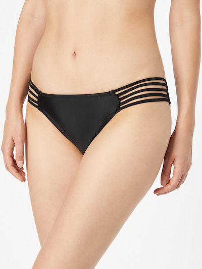 AERIE Bikinihose in schwarz, Modelansicht