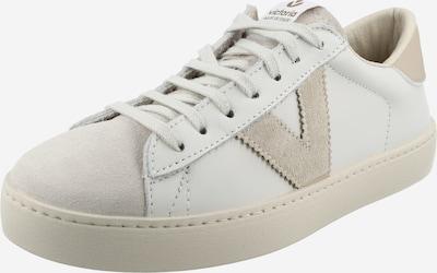 VICTORIA Zapatillas deportivas bajas 'BERLIN' en beige claro / blanco, Vista del producto