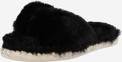 espadrij l´originale Slippers in Black: Frontal view