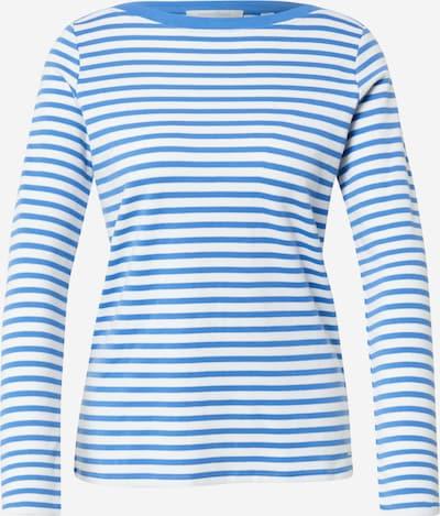 TOM TAILOR DENIM Camiseta en azul / blanco, Vista del producto
