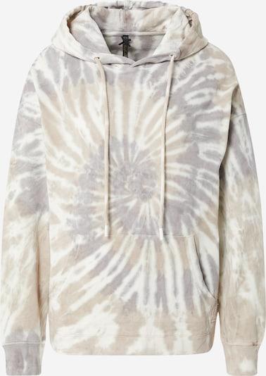 Key Largo Sweatshirt 'EARTH' in hellbraun / khaki / silber / weiß, Produktansicht