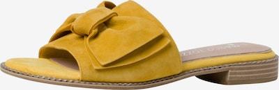 MARCO TOZZI by GUIDO MARIA KRETSCHMER Pantolette in gelb, Produktansicht