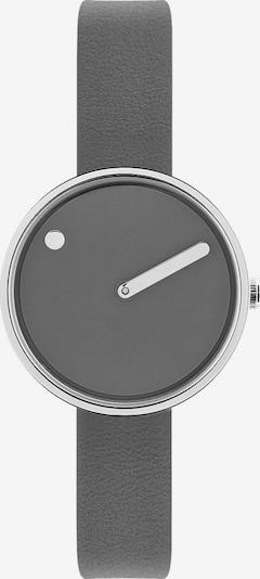Picto Uhr in grau / silber, Produktansicht