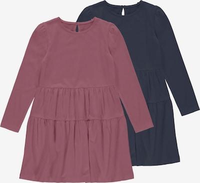 NAME IT Robe 'Vivaldi' en bleu marine / rosé, Vue avec produit