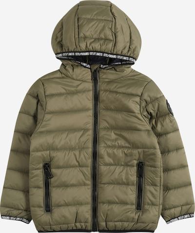 STACCATO Jacke in oliv / schwarz / weiß, Produktansicht