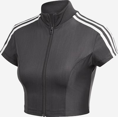 ADIDAS ORIGINALS Sweatvest in de kleur Zwart / Wit, Productweergave
