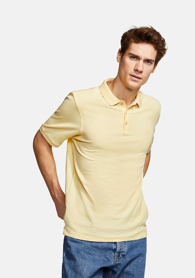 COLOURS & SONS Poloshirt 'Basic Polo RAPHAEL' in gelb: Frontalansicht