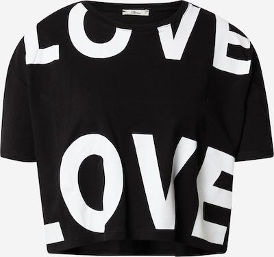LTB T-shirt 'Ziyoye' i svart / vit, Produktvy