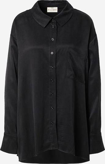 A LOT LESS Bluse 'Viola' in schwarz, Produktansicht