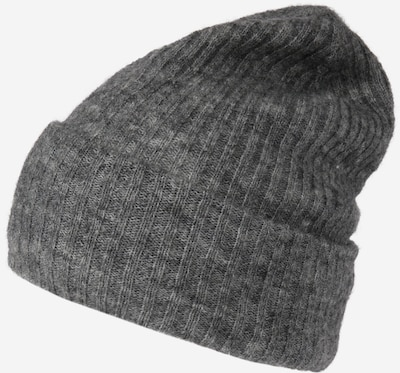 PIECES Beanie 'Bana' in grey mottled, Item view