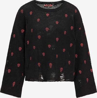 myMo ROCKS Sweater in Pink / Black, Item view