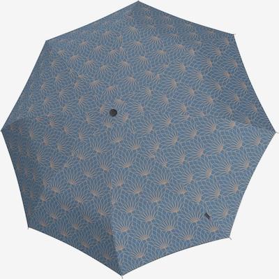 KNIRPS Regenschirm 'T.200' in beige / grau, Produktansicht