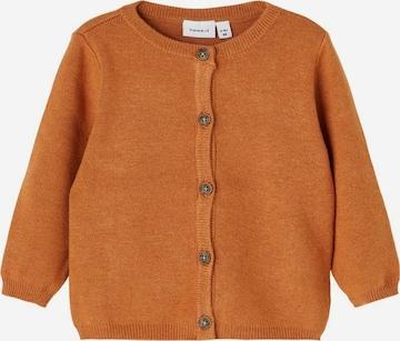 Cardigan NAME IT en orange