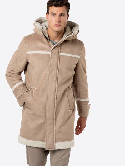 Cappotto invernale 'SECSET' DRYKORN di colore beige / bianco, Visualizzazione modelli