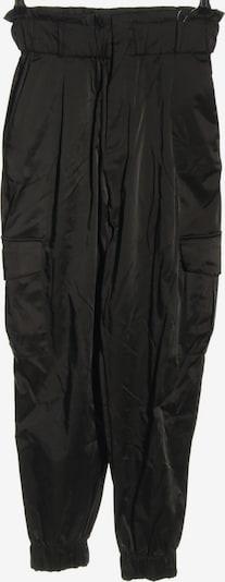 ZARA Bundfaltenhose in S in schwarz, Produktansicht