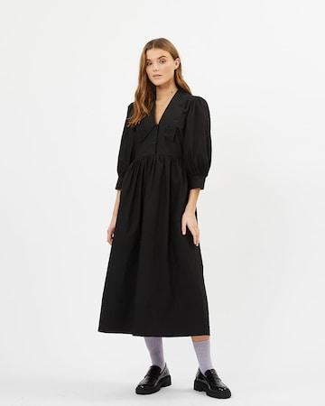 Rochie tip bluză 'Rikkaly' de la minimum pe negru