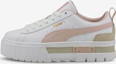 PUMA Sneaker in hellbeige / rosa / weiß, Produktansicht