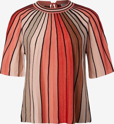 Pulover s.Oliver BLACK LABEL pe nud / maro / roz / roșu / negru, Vizualizare produs
