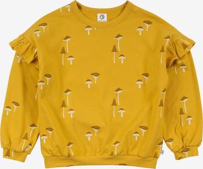 Müsli by GREEN COTTON Shirt in braun / gelb / weiß, Produktansicht
