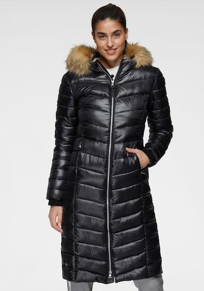 ALPENBLITZ Wintermantel in schwarz, Modelansicht