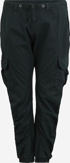 Urban Classics Big & Tall Pantalon cargo en vert foncé, Vue avec produit