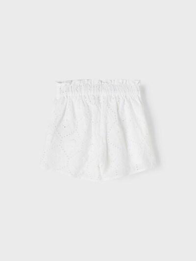 NAME IT Hose 'Hudith' in weiß, Produktansicht