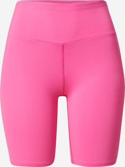 Hey Honey Pantalón deportivo en rosa neón / blanco, Vista del producto