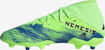 ADIDAS PERFORMANCE Fußballschuh 'Nemeziz 19.3 FG' in blau / neongrün, Produktansicht