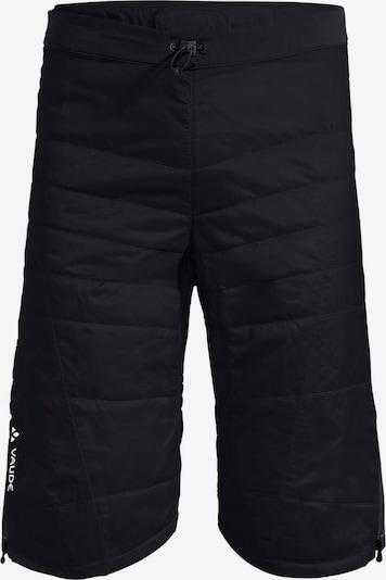 VAUDE Thermohose 'Sesvenna II' in schwarz / weiß, Produktansicht