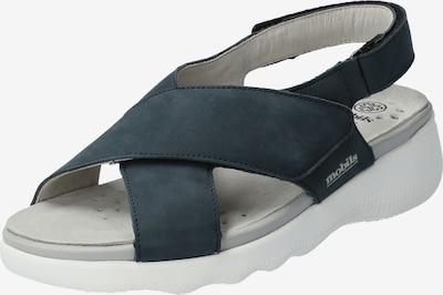 MOBILSergonomic Sandalette 'Malorie' in blau / marine / navy, Produktansicht