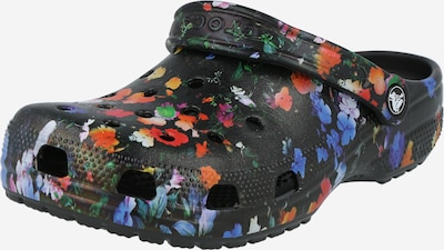 Crocs Clogs 'Classic Printed Floral Clog' in black, Item view