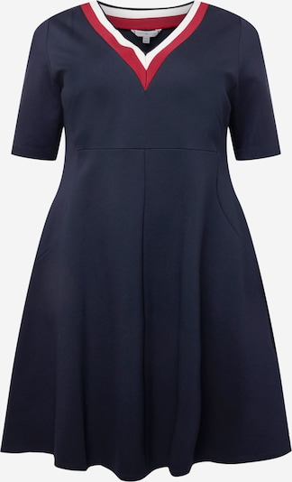 Tommy Hilfiger Curve Dress 'PUNTO' in Navy / Red / White, Item view