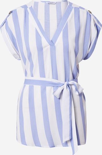 ZABAIONE Bluse 'Lillian' in hellblau / weiß, Produktansicht