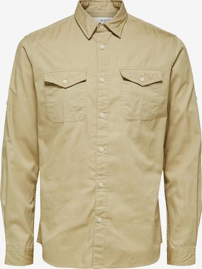 Marškiniai 'Regriver' iš SELECTED HOMME , spalva - smėlio, Prekių apžvalga