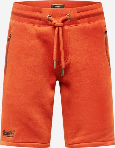Pantaloni Superdry di colore navy / arancione, Visualizzazione prodotti