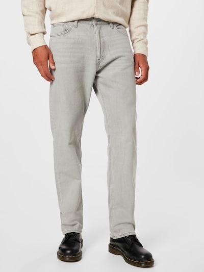 WEEKDAY Jeans 'Space Seven' in hellgrau, Modelansicht
