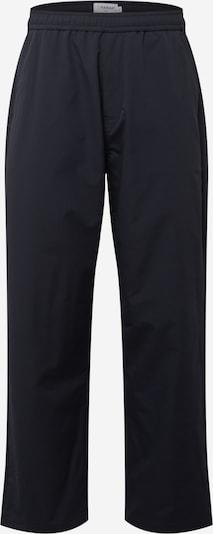 Pantaloni 'GREENPORT DOBBY' FARAH pe albastru noapte, Vizualizare produs
