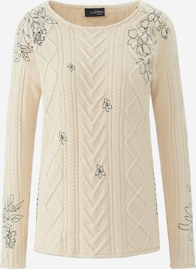 Looxent Pullover Rundhals-Pullover in weiß, Produktansicht