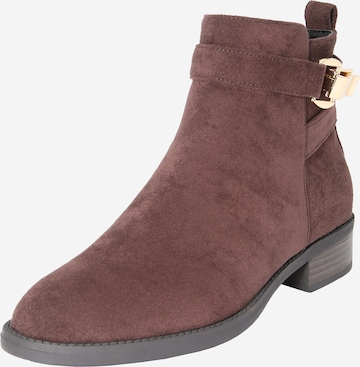 ABOUT YOU Stiefelette 'Johanna' in Braun