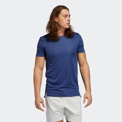 ADIDAS PERFORMANCE Functioneel shirt in de kleur Donkerblauw: Vooraanzicht