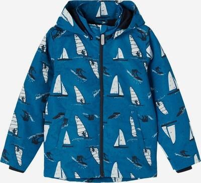 NAME IT Functionele jas in de kleur Blauw / Zwart / Wit, Productweergave
