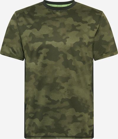 Tricou funcțional 'RUN GRAPHIC SS TEE M' PUMA pe verde închis, Vizualizare produs