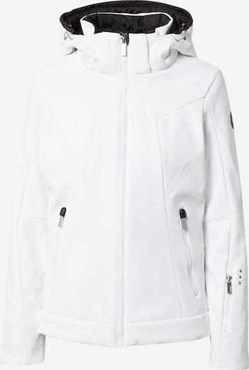 ICEPEAK Jacke 'ERIE' in schwarz / weiß, Produktansicht