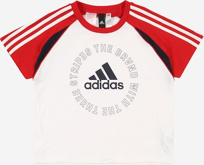 ADIDAS PERFORMANCE Functional shirt in red / white, Item view