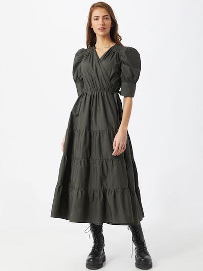 Birgitte Herskind Kleid 'Grith' in dunkelgrün, Modelansicht