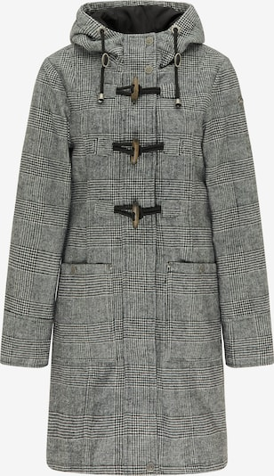 DreiMaster Vintage Wintermantel in de kleur Grijs / Zwart, Productweergave